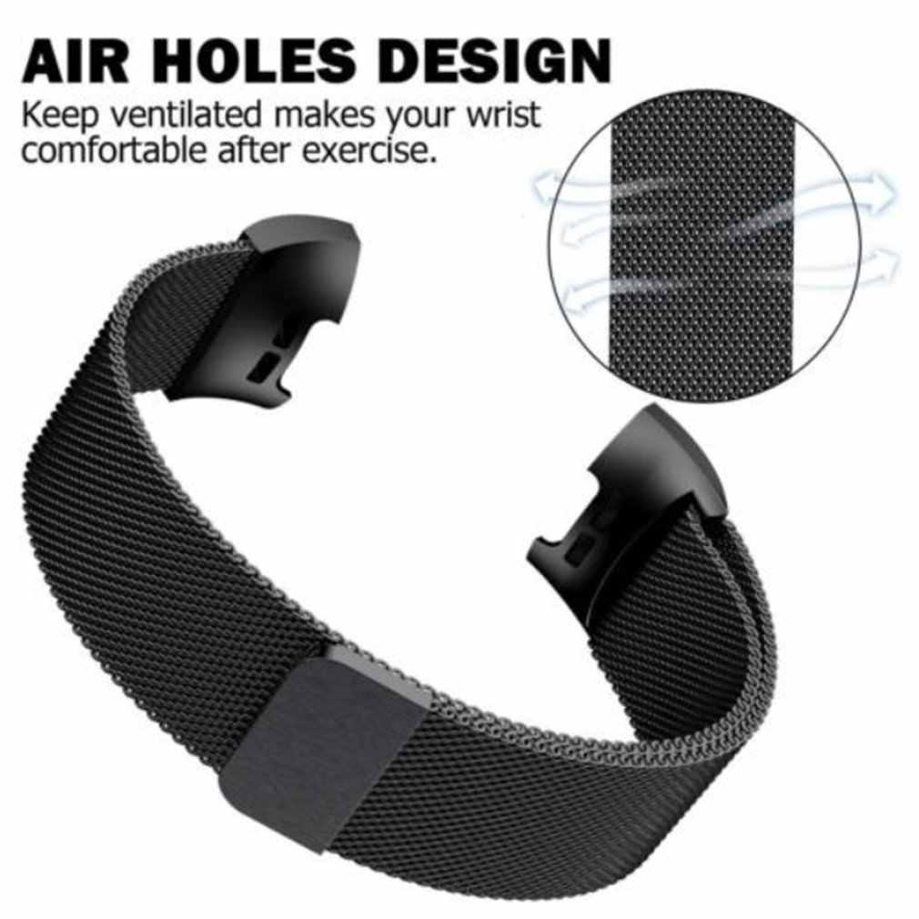 Yeni Manyetik Metal Milanese çekme bandı Fitbit Şarj Için 3 Askı Şarj 2 Band Değiştirme Fitbit Şarj 2 Bantları Charge3