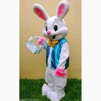 Easter Bunny Mascot Costume EPE Fancy Dress Mascot costume Bugs Rabbit Hare Easter Adult Mascot