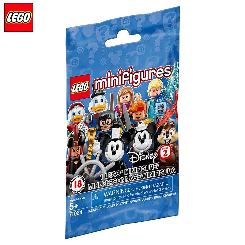 1 шт. LEGO disney Дональд Дак Микки Минни Мини фигурки строительные блоки игрушки для детей подарок 71024 случайная отправка|Блочные конструкторы|   | АлиЭкспресс