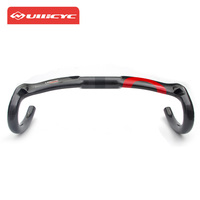 Ullicyc Carbon handlebar Road Bicycle 2018 UD Glossy Aero Light Full Carbon fiber Road Bike Handlebar Bent Bar 400mm/420mm/440mm