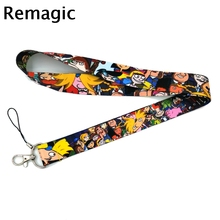 Cartoon anime funny vintage 90s kids couple Neck Strap Lanyards ID badge card holder keychain Mobile Phone Gifts