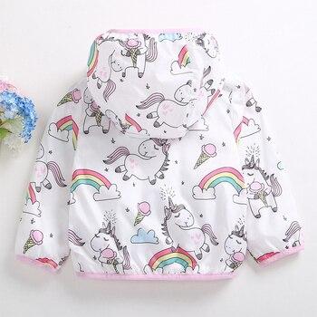 Unicorn Jacket for Girls Ice Cream 1