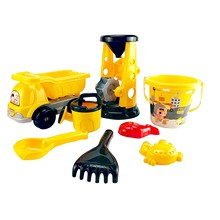 Toy Sand-Shovel Water-Toys Bull-Seaside Beach Dig Truck 8pcs Suit Vehicles Engineering