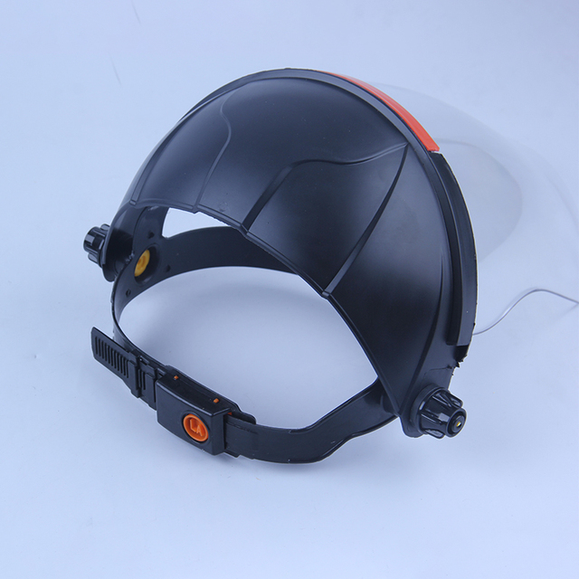 Anti-Saliva Windproof Dust proof Face Mask Transparent PVC Safety Face Shield Screen Spare Visors Respiratory tract Protection 2