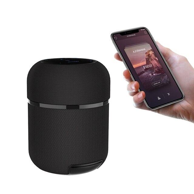 BlitzWolf BW-AS3  Bluetooth Speaker 70W 12000mAh Wireless with 360°Stereo Sound TWS Function Styling Design NFC Smart Soundbar 2