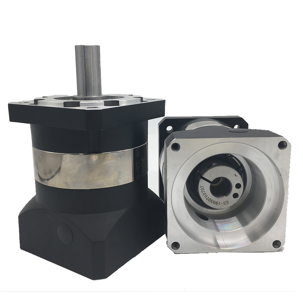 <font><b>5</b></font>:1 Speed Ratio <font><b>5</b></font> Flange 90mm 7Arcmin Planetary Reducer 19MM Input Shaft Gearbox Reducer for 750W 1 <font><b>KW</b></font> Servo <font><b>Motor</b></font> CNC image