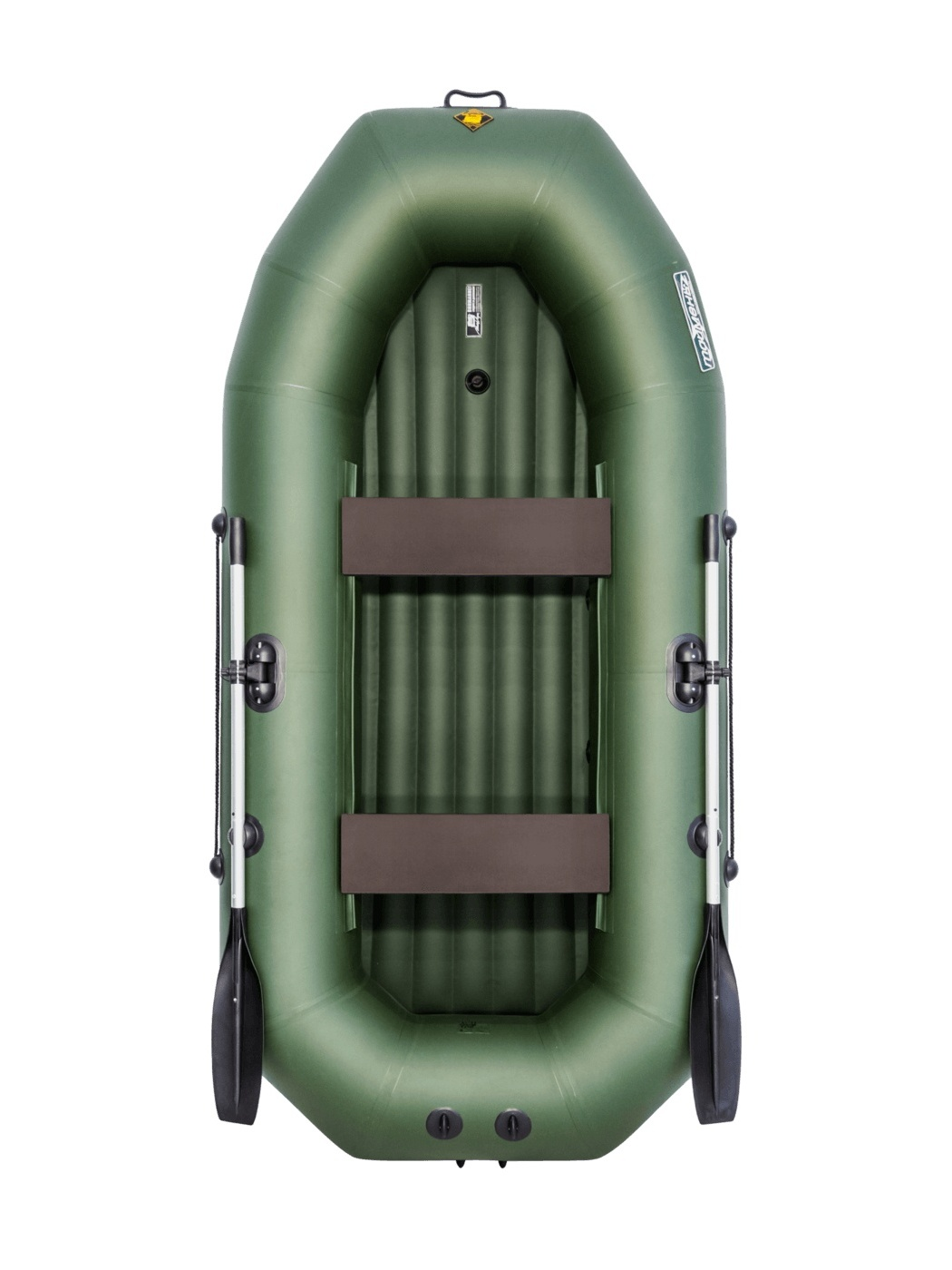 Inflatable Boat PVC, Tymen N 270 ND, Green 4603725300262