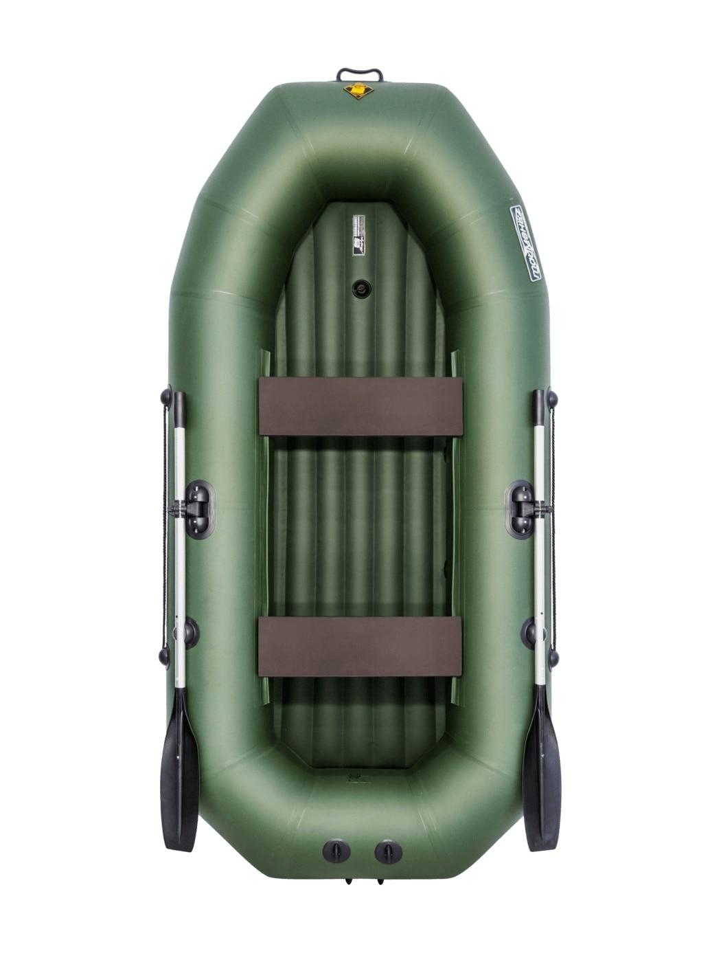 Inflatable Boat PVC, Tymen N 270 ND, Green 4603725300262