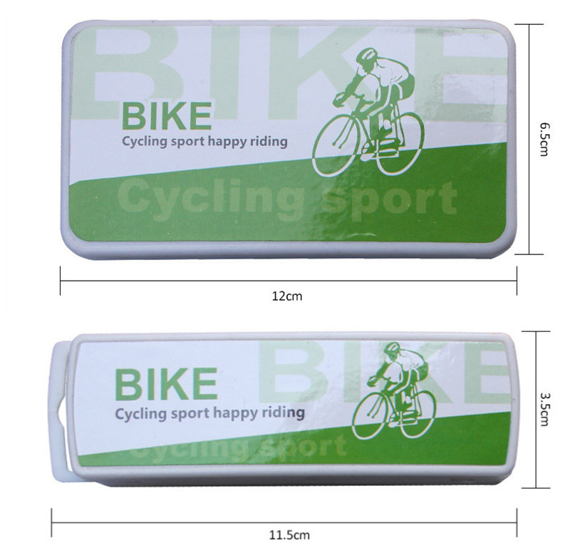 1 Set Mini Portable Bicycle Tire Repair Tool Kit Glue-free Self-Adhesive Patches For Mountain Bike Electric Car Road Bikes
