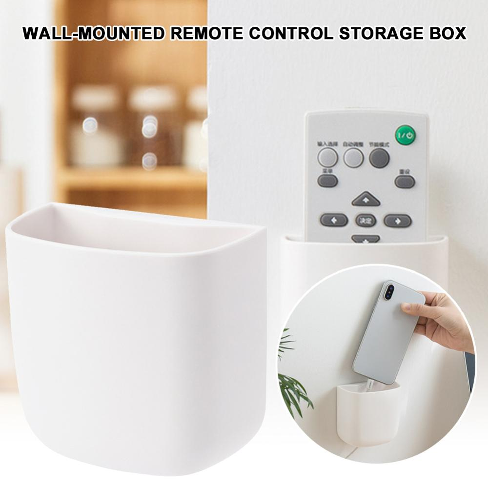Punch-Free <font><b>Remote</b></font> <font><b>Holder</b></font> Wall Hanging TV <font><b>AC</b></font> <font><b>Remote</b></font> Control <font><b>Holder</b></font> for Home and Office 40P image