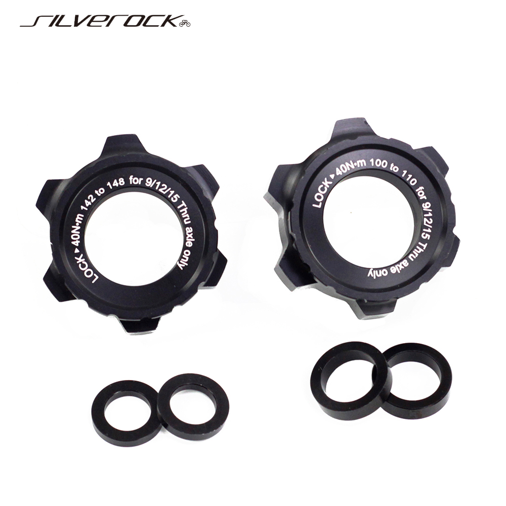CenterLock to 6-Bolts Disc Brake Rotor Adapter Spacer to 110//148mm for 9//12//15mm