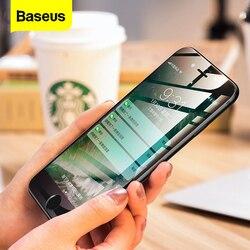 Baseus 0.23MM szkło hartowane dla iPhone 8 7 6 6s Plus Screen Protector miękkie 3D zakrzywione pełna pokrywa szkło ochronne folia przednia