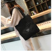 цена на Women Corduroy Zipper Shoulder Bag Cotton Canvas Handbag Casual Tote Female Eco Crossbody Bag Ladies Vintage Messenger Bags sac
