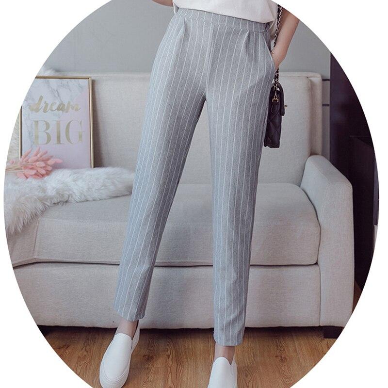 2020 новые летние тонкие штаны-шаровары в британском стиле, женские свободные штаны для тонких ног, повседневные длинные штаны большого