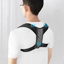 Cinta cinto de apoio ajustável volta postura corrector clavícula coluna volta ombro lombar correção postura ombro volta blet