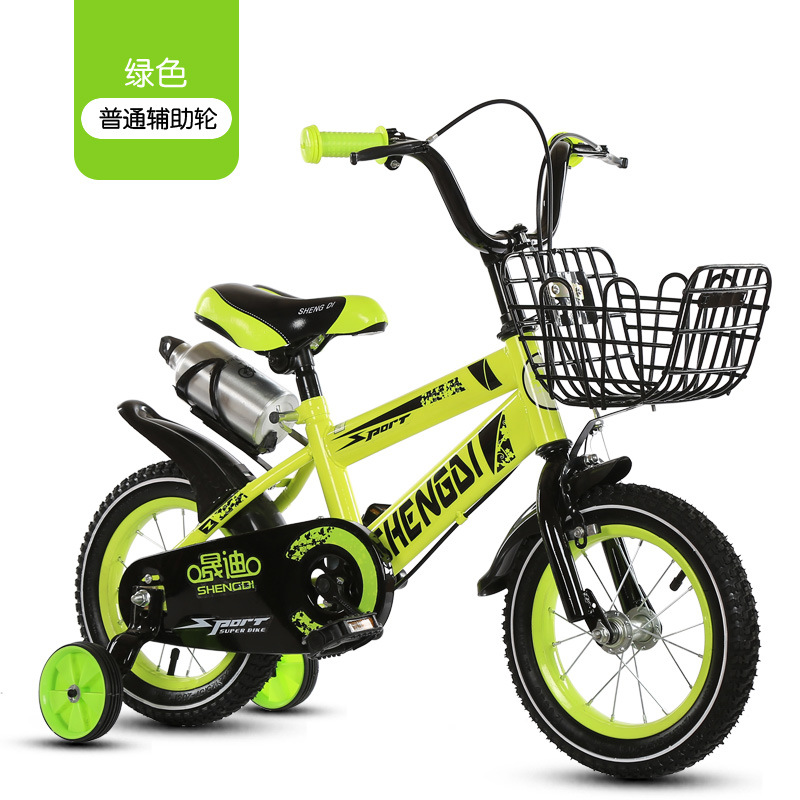 Children's bicycle 12 inch girl baby bicycle 2 4 years old child girl baby carriage|Bicycle| |  - title=