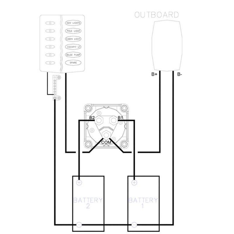 alta qualidade novo interruptor seletor bateria 01