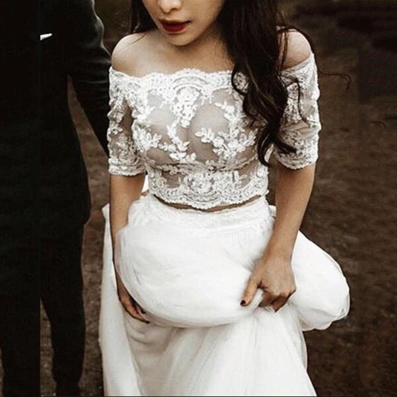 Two Piece Short Wedding Dresses Fashion Dresses,Dresses For A Wedding Guest In October