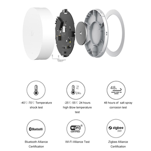 Image 2 - Xiaomi Mijia Multi Mode Smart Gateway Voice Remote Control Automation work with ZigBee WIFI Bluetooth Mesh Smart Linkage Devices