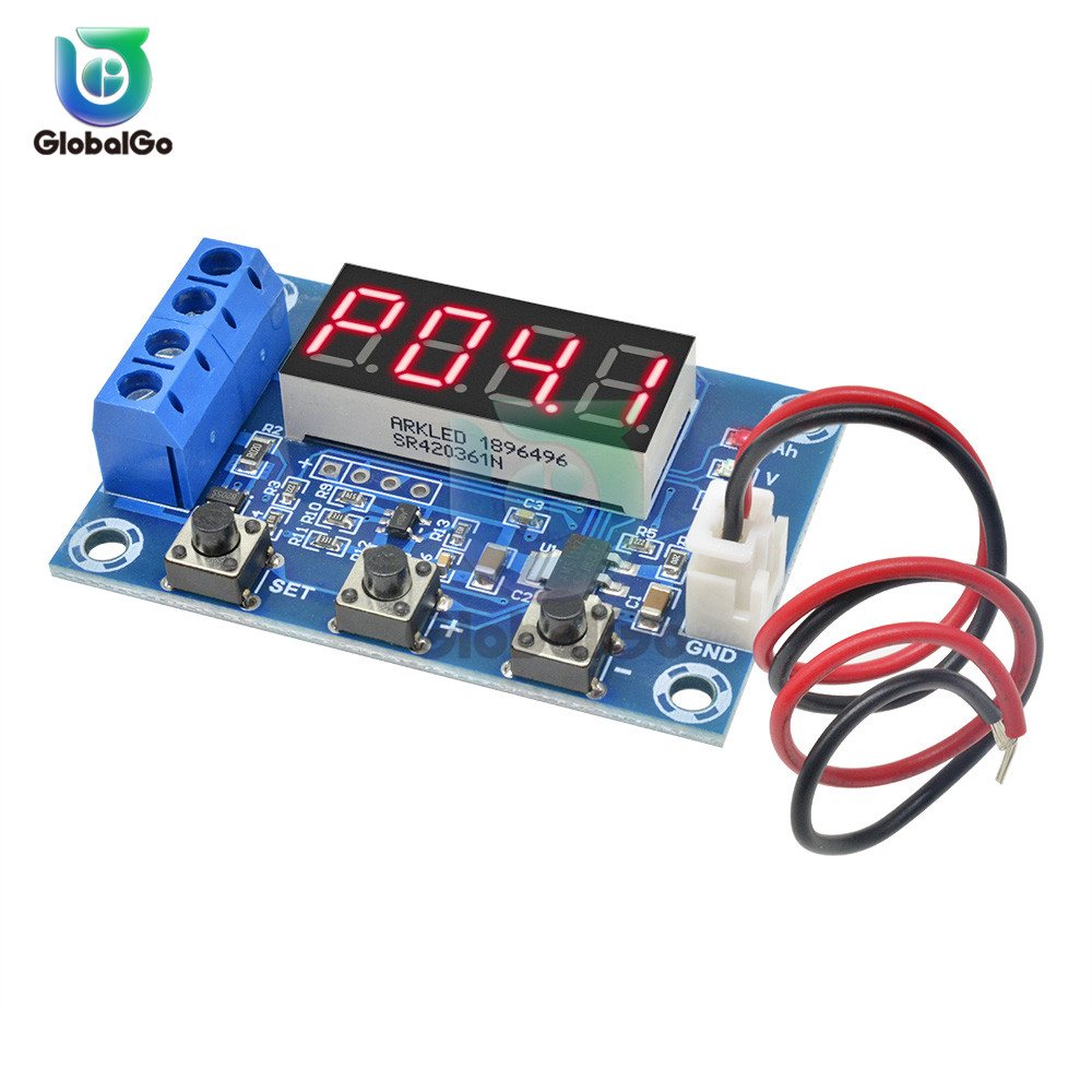 XH-M354 LED Digital Li-ion Lithium Battery Real Capacity Test Module AH Measurement Module With 2Pin Cable