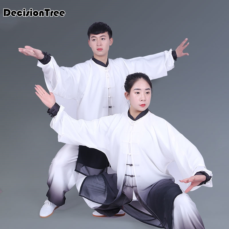 2019 Classic Chinese Tang Suit Martial Arts Performance Suit Jiu Jitsu Wushu Kung Fu Uniform Tai Chi Suit For Men And Women
