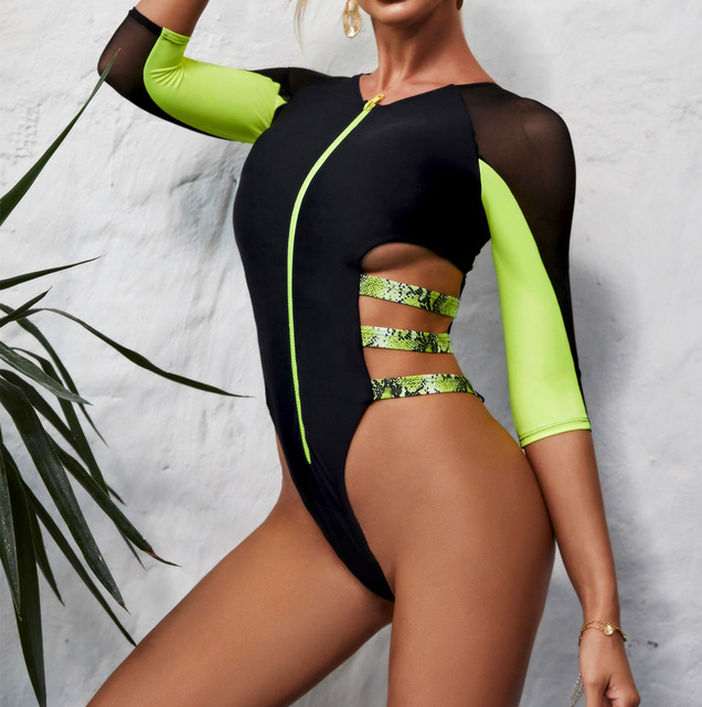 Long Sleeve Bikini Set 6