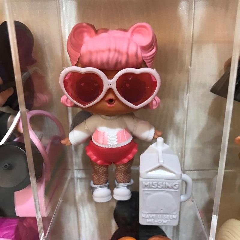One Pcs Fashion Original Doll LOLs Surprise For Children Toy Doll 9cm Toys Educational Girl DIY Surprise Doll LOLs Original
