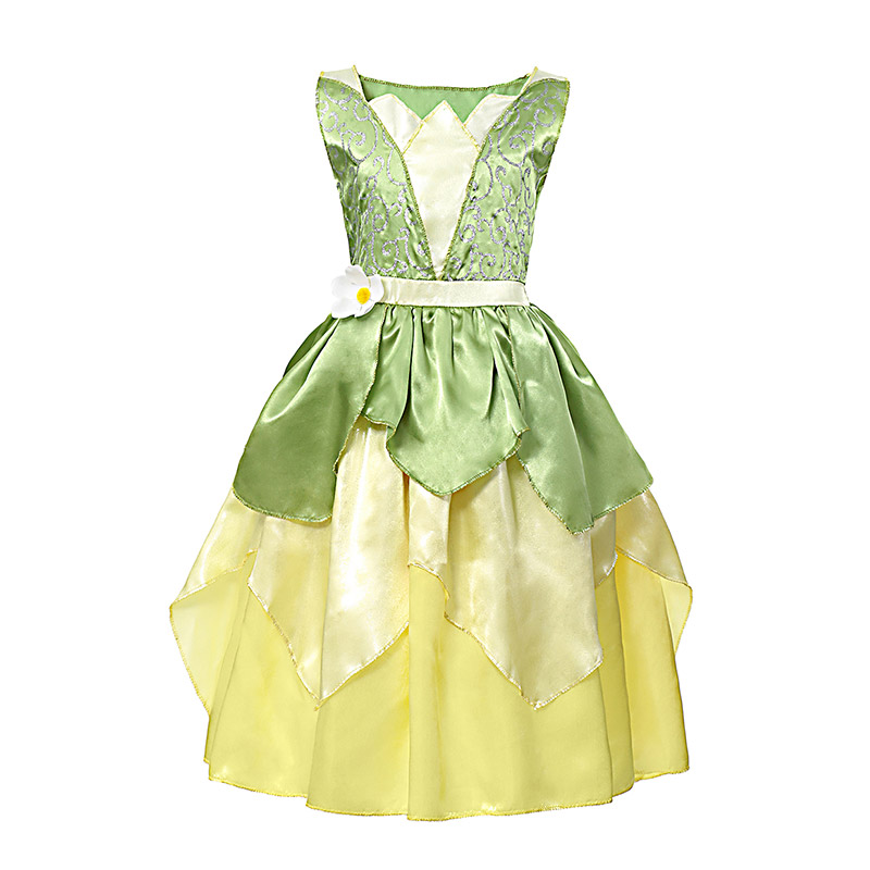 H24eb02904af746678600d581f42dde8aB - Fancy Baby Girl Princess Clothes Kid Jasmine Rapunzel Aurora Belle Ariel Cosplay Costume Child Elsa Anna Elena Sofia Party Dress