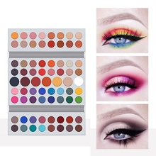 71-color Eyeshadow Palette Waterproof Non-dizzy Long Lasting Matte Glitter Women Gift Gorgeous Make Up