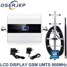 Полный комплект 2G GSM 900 МГц Ретранслятор 3G, повторитель сигнала мобильного телефона, усилитель 900 МГц GSM + антенна Яги