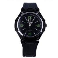 Moda wodoodporny 30M LED zegarki kwarcowe cyfrowy elektroniczny zegarek zegarek wielokolorowy okrągły zegarek galaretowy zegarek w Zegarki dla zakochanych od Zegarki na