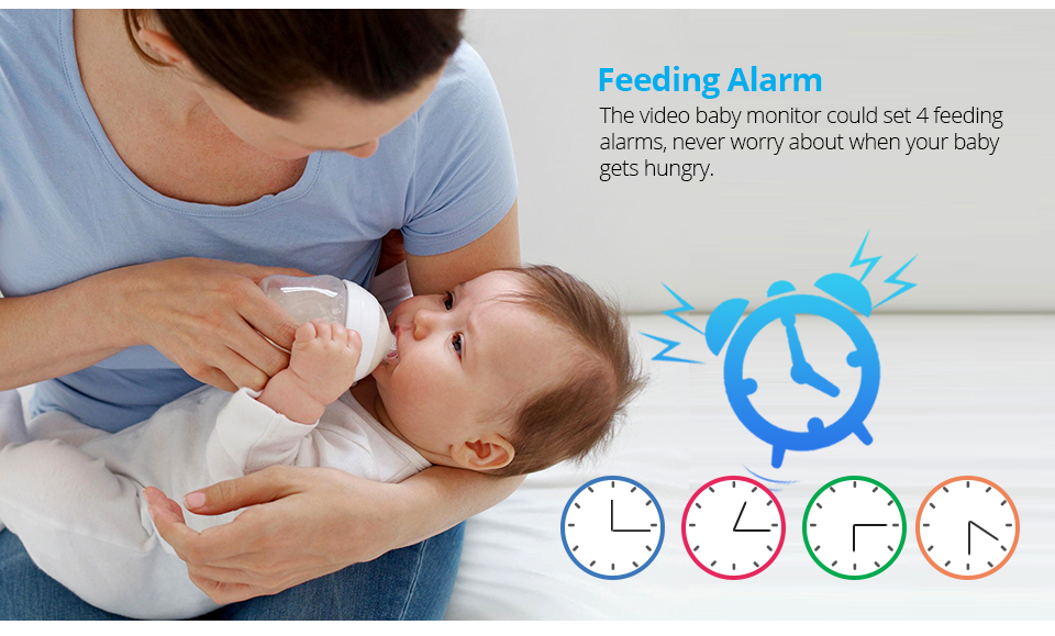 7 Inch Wireless Baby Monitor With 720P HD Screen Camera To Check Your Baby Monitor Screen 17