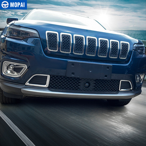 Image 5 - MOPAI Car Stickers for Jeep Cherokee 2019+ ABS Car Front Fog Light Lamp Decoration Cover Accessories for Jeep Cherokee 2019+
