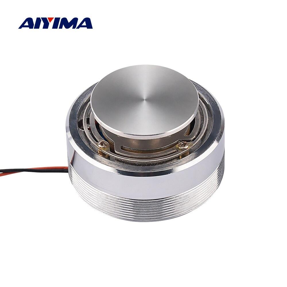 Переносные аудио колонки AIYIMA, 25 Вт/20 Вт, 4 Ом/8 Ом, 44/50 мм, полный диапазон, вибрация, резонансная колонка, басовая колонка