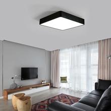 Modern LED Ceiling Lamp 18W Square 30x30cm Energy Saving for Home Bedroom Living Room LB88