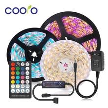 DC12V 5050 LED Strip RGB RGBW RGBWW CCT 60LEDs/m 5M with Mini RF LED Controller and power supply LED Strip Set