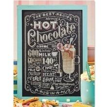 Hot Chocolade Kruissteek Pakket Sets Aida 18ct 14ct 11ct Zwarte Doek Mensen Kit Borduurwerk Diy Handgemaakte Handwerken