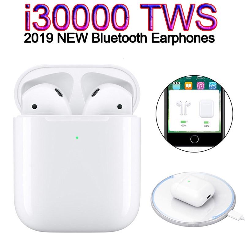 Original I30000 Tws 1:1 Pop Up Wireless Charging Bluetooth Sports True Earbud MIni Earphone Not W1 I2000 I20000 I5000 I10000 Tws