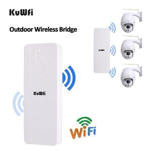 Image 5 - KuWFi Открытый CPE маршрутизатор Wifi расширитель Qualcomm 9531 скорость до 300 Мбит/с беспроводной CPE стабилизированный корпус с IP65 водонепроницаемый