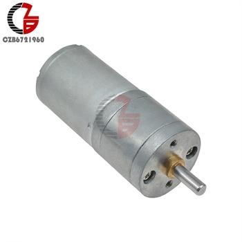 25GA370 przekładnia DC silnik 12V 100RPM liniowy elektryczny silnik Miniatura dla urządzenia domowego wentylator samochód Hobby zabawka RC samochód