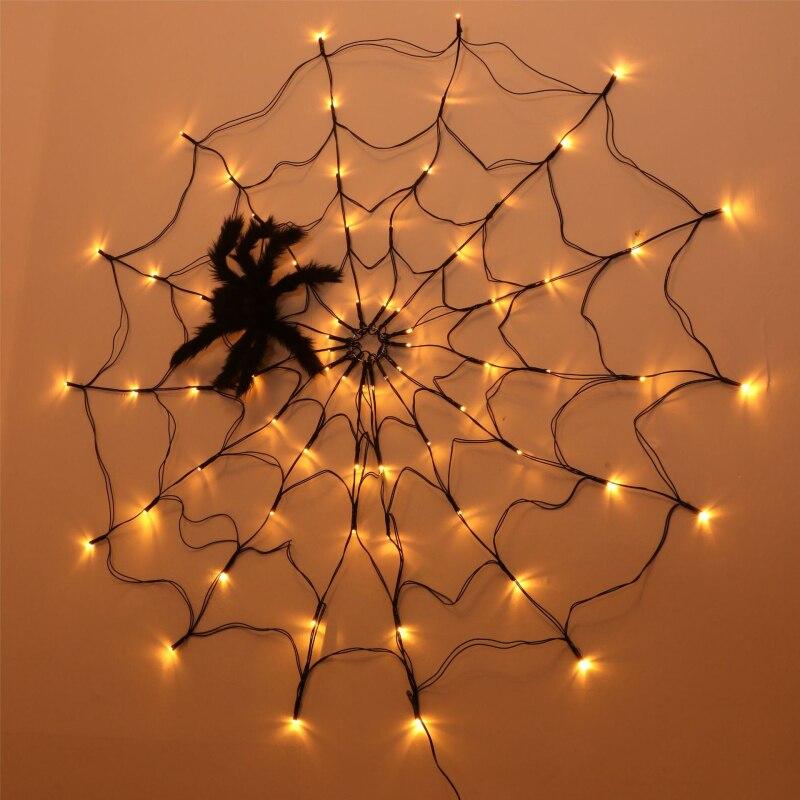 dia das bruxas, teia de aranha com