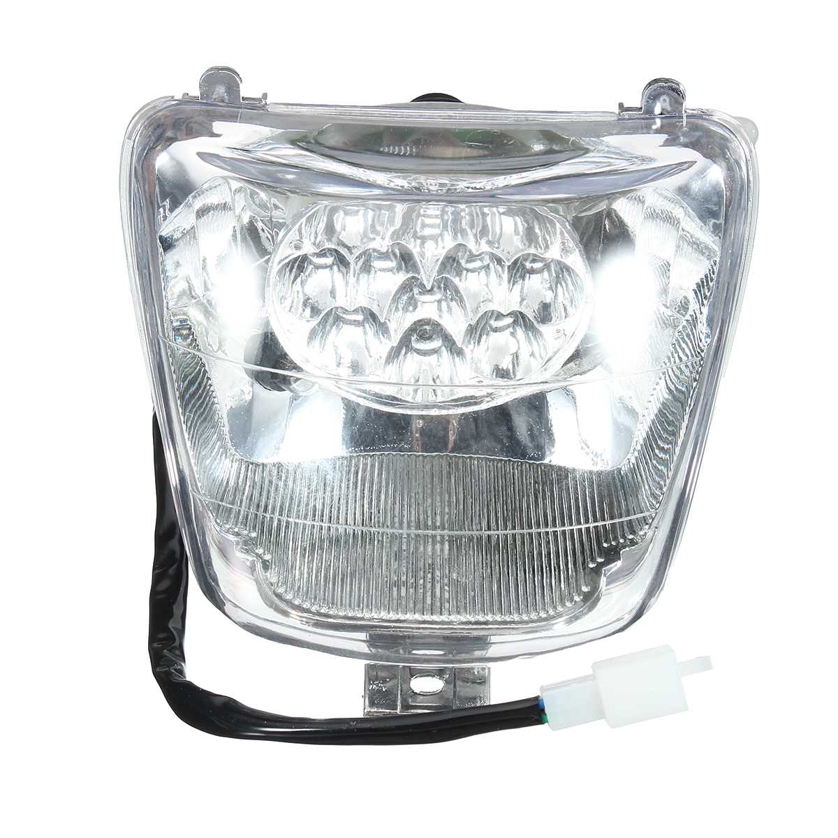 12V 35W Motorcycle Front Light LED Headlight For 50cc 70cc 90cc 110cc 125cc For Mini ATV Quad Bike For Buggy