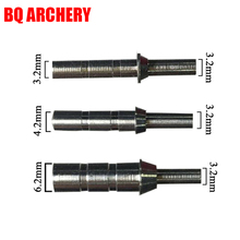 12Pcs Archery Arrow Aluminium Nock Pin for Carbon Arrows DIY Accessories Compound Crossbow Recurve Bow Hunting Shooting
