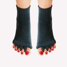 Socks Foot-Cramps Separator Health-Massage-Socks Pain Sports Prevent Yoga for Five-Toe