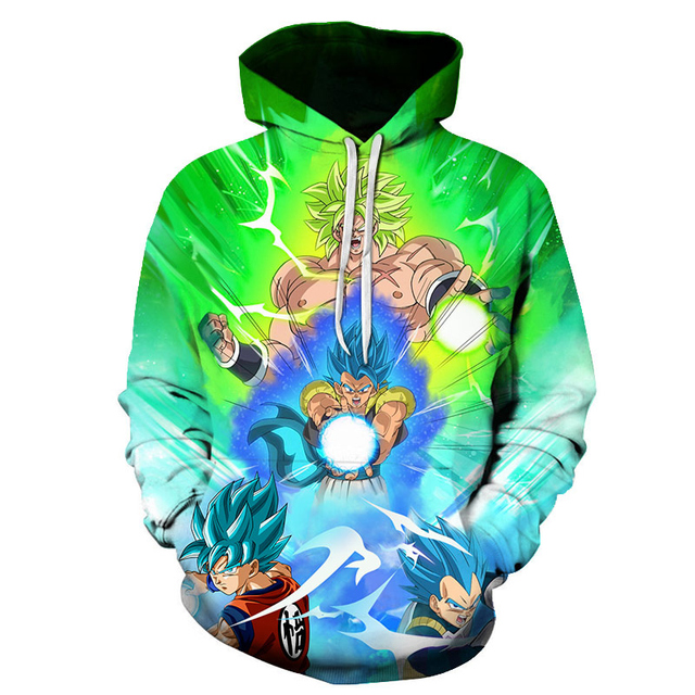 DRAGON BALL THEMED 3D HOODIE (22 VARIAN)