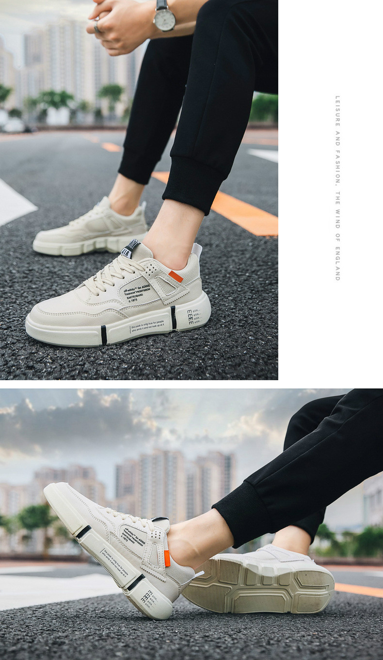Platform Sneakers for Men Breathable Casual Walking Sports Running Shoes Ourdoor Travel Fitness Sneakers