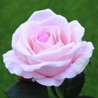 50cm gran Artificial rosas rama con flores boda inicio decoración de la tela de franela Linda Rosa Flores artesanía decoración de la fiesta