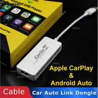 CarPlay Dongle Navigation Player Car USB Smart Auto Link Dongle For Apple for Android Player Mini USB Carplay with Android