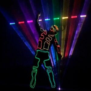 Image 4 - Free Shipping ILDA+SD Card 20W mulit color RGB Disco Laser Light ilda mini stage lighting projector