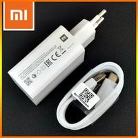 Xiaomi Original de Mi 9 Turbo cargador rápido 27W de carga rápida QC 4,0 Usb tipo C Cable de toma de corriente de pared adaptador para Mi 10 8 6 Redmi Note 8 9